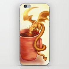 A drink for a dragon iPhone & iPod Skin