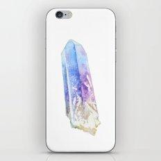 Rainbow Quartz Point iPhone & iPod Skin