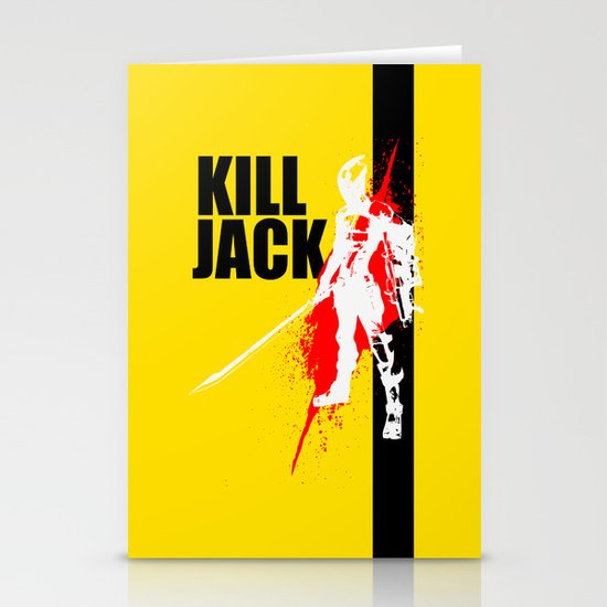 KILL JACK - ASSASSIN Stationery Card