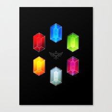 Zelda Just Want Them Rupees Canvas Print