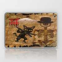The Cat And Monsieur Bon… Laptop & iPad Skin