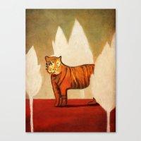 Twilight Of The Sumatran… Canvas Print