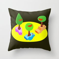 After Dark Fun Throw Pillow