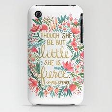 Little & Fierce iPhone (3g, 3gs) Slim Case