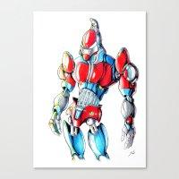 ROBOT MAN 1 Canvas Print