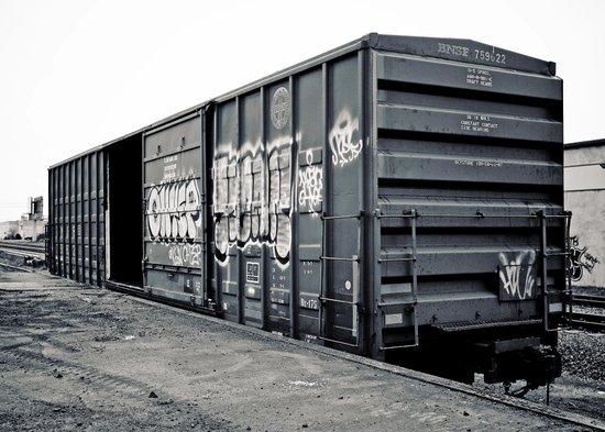 Train car Canvas Print