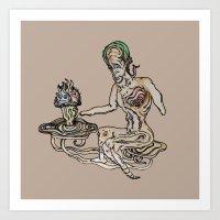 The Grail (v3) Art Print