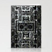 SILVER ARTDECO  Stationery Cards