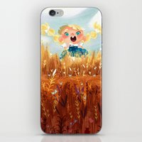 In The Fields iPhone & iPod Skin