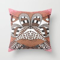 Ubiquitous Bird Collection4 Throw Pillow