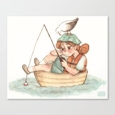 boater Canvas Print