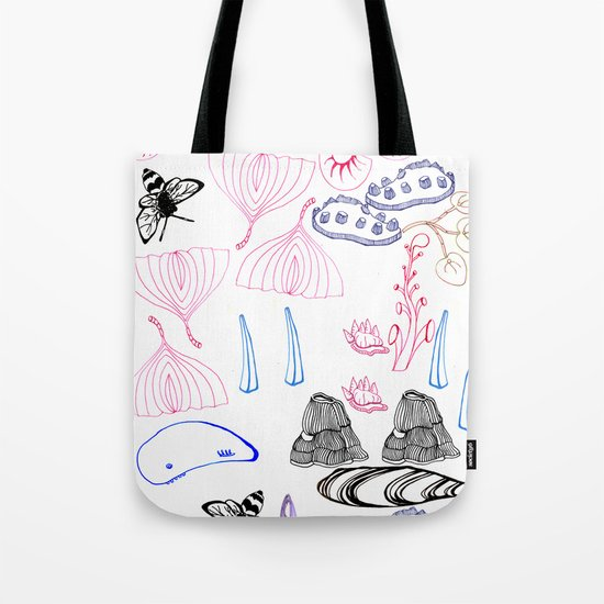Bits & Pieces Tote Bag