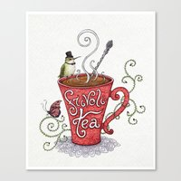 Frivoli-Tea Canvas Print