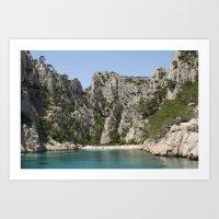 french alcove beach Art Print