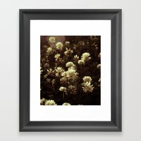 FLOWERS II Framed Art Print