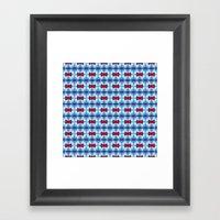 Pttrn21 Framed Art Print