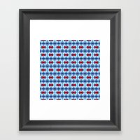 Pttrn21 Framed Art Print