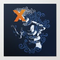 My Hideous X Canvas Print