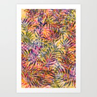 plants everywhere Art Print