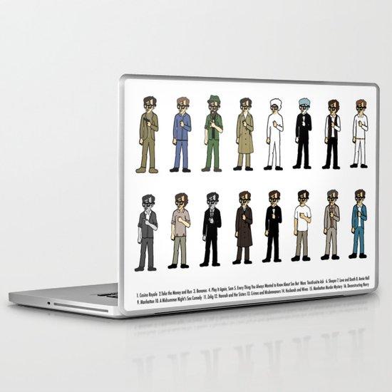 Woody Allen's Laptop & iPad Skin