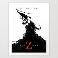 World Park Z Art Print