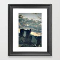 Commence.  Framed Art Print