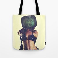 SEX ON TV LATEX by ZZGLAM Tote Bag