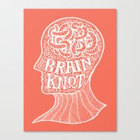 Brainknot Canvas Print
