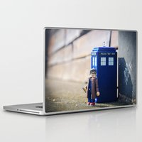 doctor who Laptop & iPad Skins featuring Doctor Who by Marivi Troy