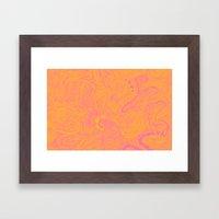 Scribblez Framed Art Print