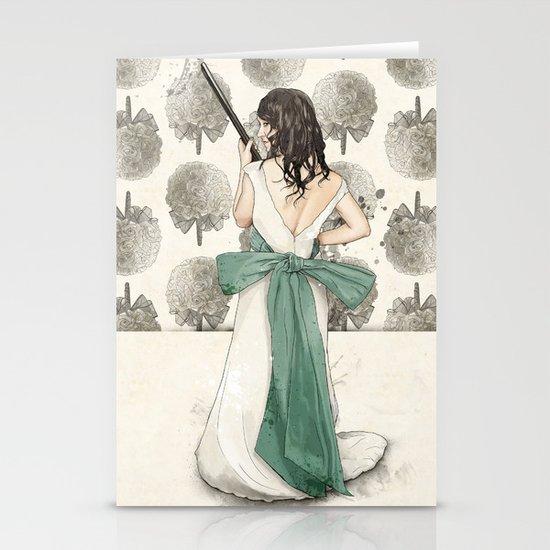 A Shotgun Kind of Wedding Stationery Card