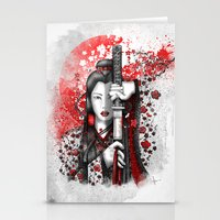 Katsumi - victorious beauty Stationery Cards