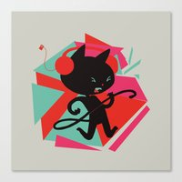 Air Cat Canvas Print