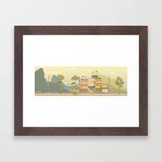 SL1 Framed Art Print