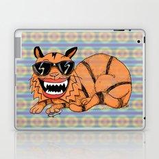 Kickflip Cat Laptop & iPad Skin