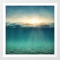 Sea Sunshine Art Print