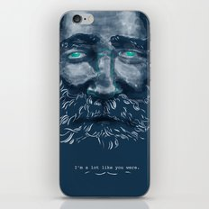 Old Man iPhone & iPod Skin