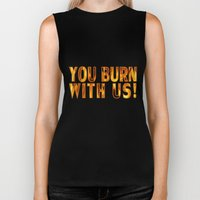 Fire is Catching! Biker Tank