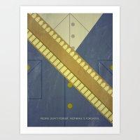 Video Game Poster: Cowbo… Art Print