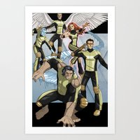 X-Men: First Class Art Print