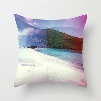 St John, USVI Multiple E… Throw Pillow