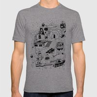 EL TANQUE CARCEDO Mens Fitted Tee Tri-Grey SMALL