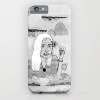 iPhone Cases featuring Blancontrol by Édgar MT