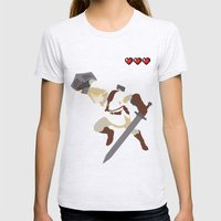 The Legend of Zelda - Link Womens Fitted Tee Ash Grey SMALL