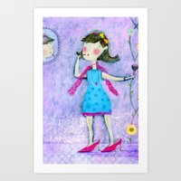 Children memories Art Print