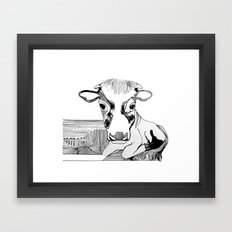 maverick Framed Art Print