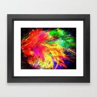 Bursting With Joy Framed Art Print