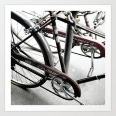 bikes 08 Art Print