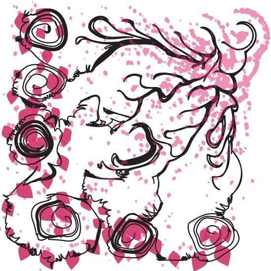 Fallen Leaves Swirls And Twirls Art Print