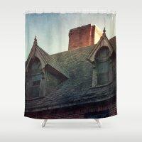 The Ward Shower Curtain
